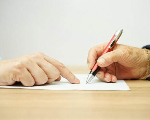 signing a trust for special needs child
