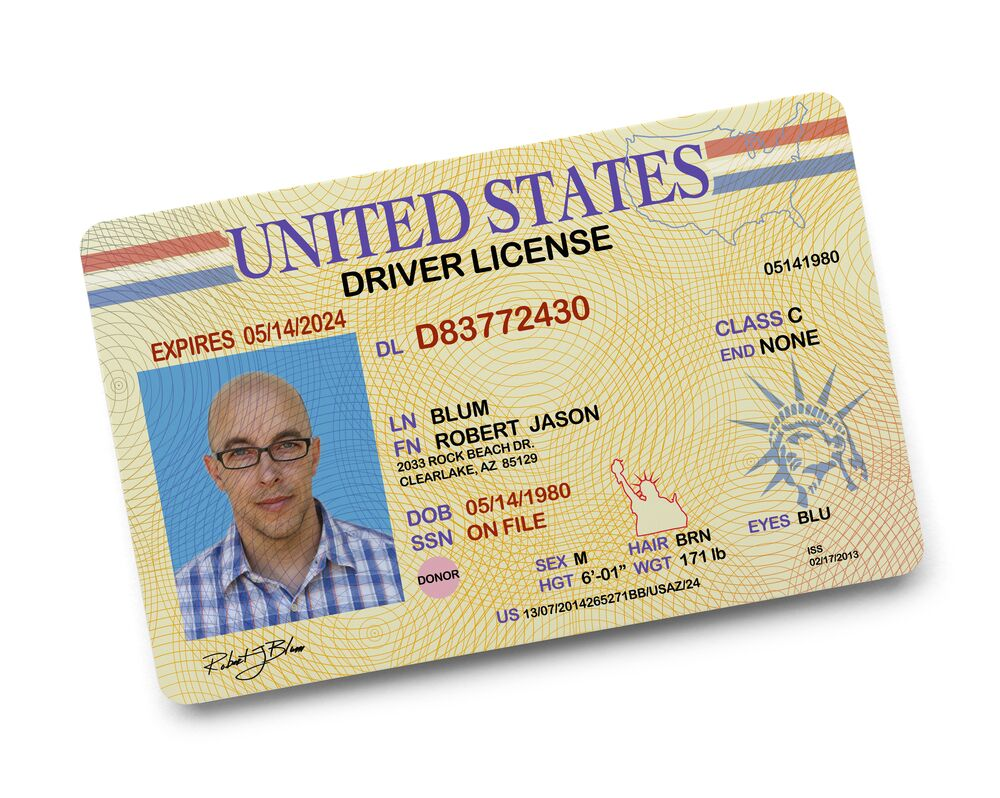 drivers license preview